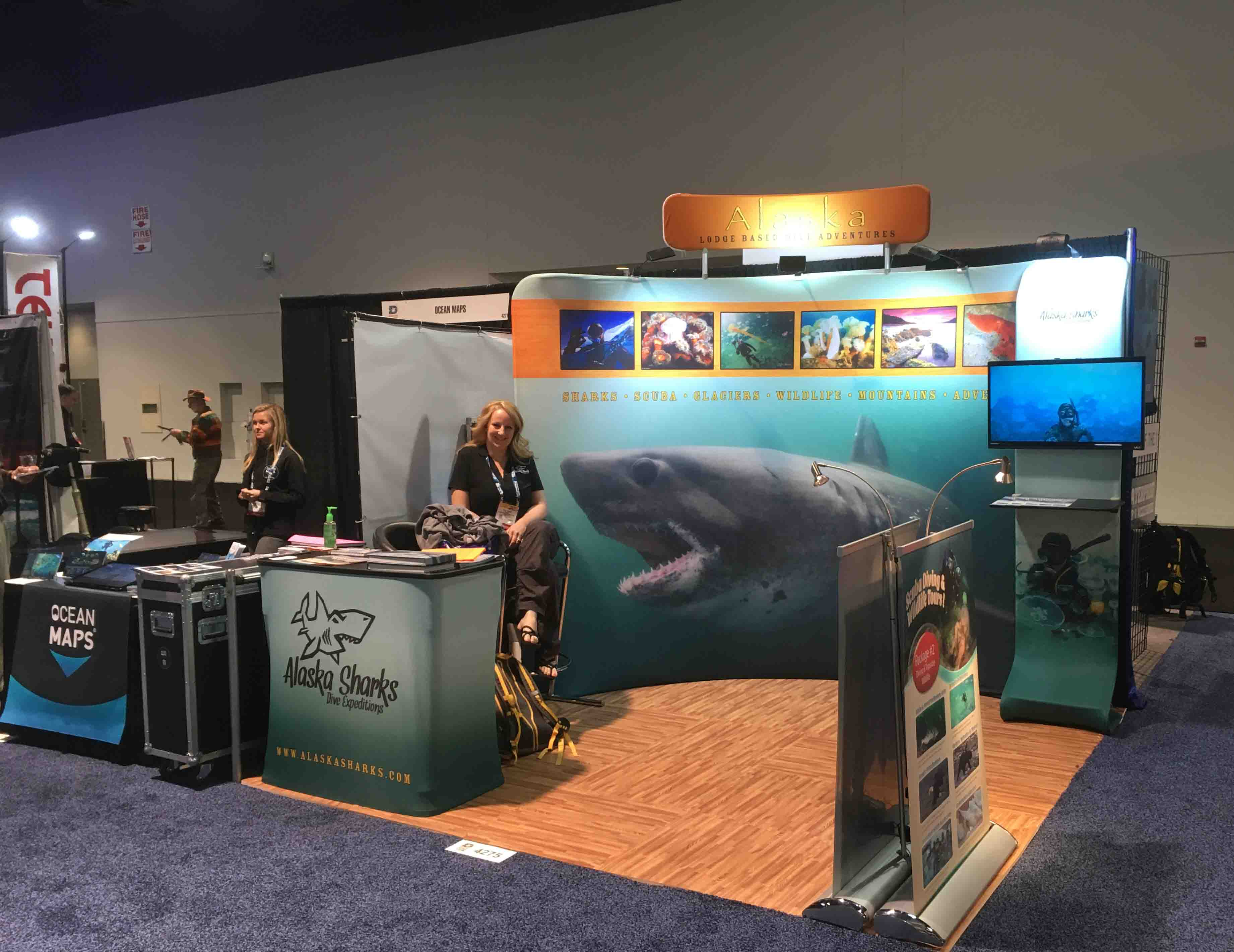 DEMA booth 2016